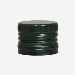 Csavarzár csepporrel,31,5mmx24mm,zöld