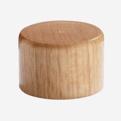Exkluzív csavarzár,28 mm,bevonata fa
