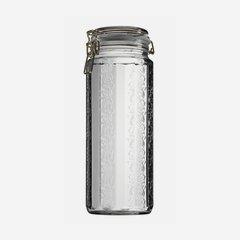 Csatos üveg,2250 ml,átlátszó