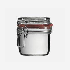 Csatos üveg,255 ml,átlátszó