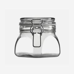 Csatos üveg,550 ml,átlátszó