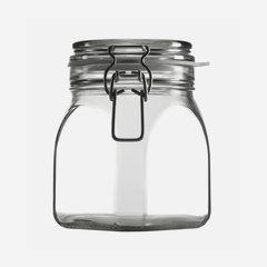 Csatos üveg,900 ml,átlátszó