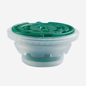 csavarzár csepporrel olajos dobozhoz,24 mm,zöld