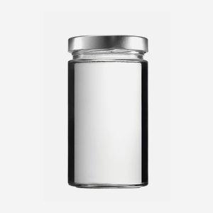 FACTUM üveg,720 ml,átlátszó,szájforma:TO82DE