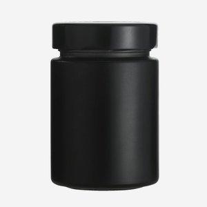 FACTUM üveg,192ml,fekete, száj:TO58DE