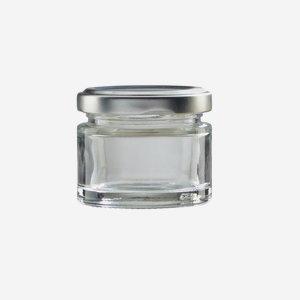 Factum üveg,50ml,átlátszó,szájforma:TO53
