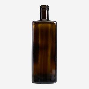 Forma üveg, 250 ml, antikzöld, szájforma: PP 31,5