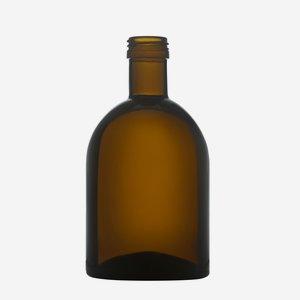 Kolio üveg,500 ml, antikzöld, szájforma: PP31,5