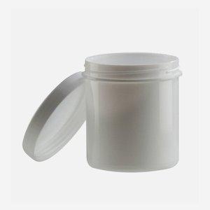 Kenocsös tégely, fehér, 37 ml, csavarzárral