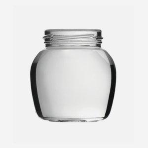 Sapore üveg,212ml,átlátszó,szájforma:TO58