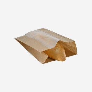 Éltalpas ablakos papírtasak 3 kg, 100% papír