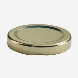 TWIST-OFF lapka,átméro: 48 mm, arany szín