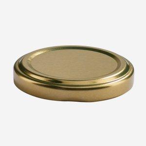 TWIST-OFF lapka,átméro: 53 mm, arany szín