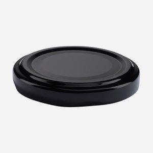 TWIST-OFF lapka,átméro: 53 mm, fekete