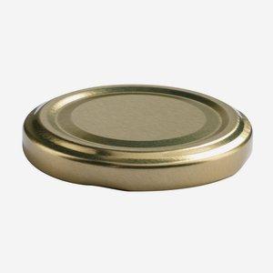 TWIST-OFF lapka,átméro: 58 mm, arany szín