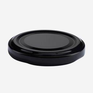 TWIST-OFF lapka,átméro: 58 mm, fekete