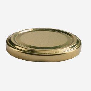 TWIST-OFF lapka,átméro: 63 mm,arany szín