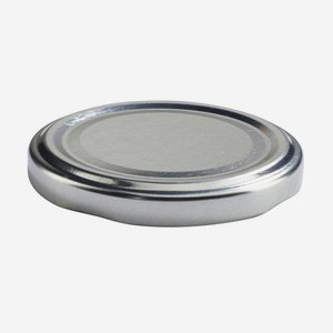 TWIST-OFF lapka,átméro: 63 mm,ezüst szín