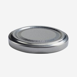 TWIST-OFF lapka,átméro: 58 mm, ezüst szín