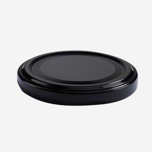 TWIST-OFF lapka,átméro: 63 mm, fekete