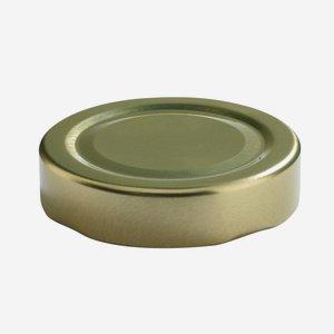 TWIST-OFF lapka,átméro: 58 mm,arany szín
