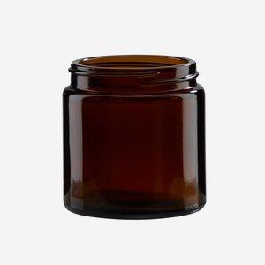 Krémtégely, 120 ml,barna, szájforma: Bak-58s