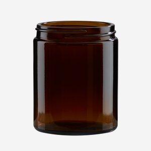 Krémtégely, 180 ml,barna, szájforma: Bak-63s
