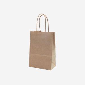 Sodrottfüles ajándék papírtáska,barna