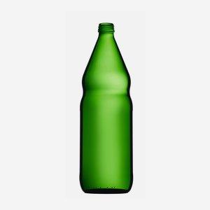 Olajos üveg,1000 ml, zöld,szájforma:MCA 28