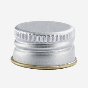 Csavarzár,méret:18mm, ezüst szín