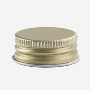 Csavarzár, méret:24mm, arany szín