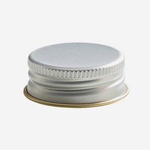 Csavarzár,méret: 24mm,ezüst szín