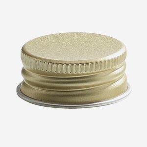 Csavarzár,méret:28mm,arany szín