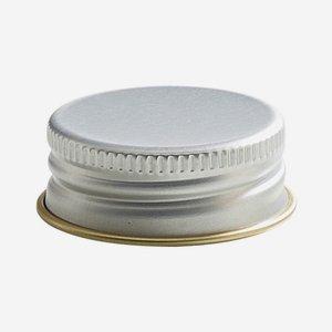 Csavarzár,méret: 31,5 mm,ezüst szín