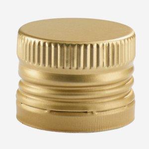 Csavarzár csepporrel,31,5mmx24mm,arany szín
