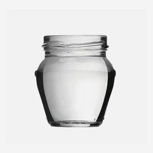 Amfora üveg,106 ml,átlátszó,szájforma:TO53
