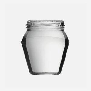 Amfora üveg,212 ml,átlátszó,szájforma:TO63