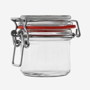 Csatos üveg,135 ml,átlátszó