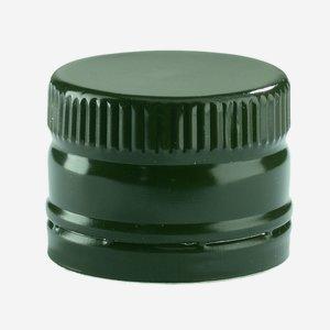 Csavarzár csepporrel,méret: 31,5x24mm,zöld
