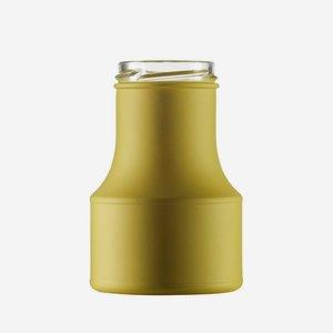 Salátaöntetes üveg,275 ml, zöld, szájforma:TO53