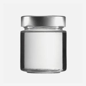 FACTUM üveg,154 ml,átlátszó,szájforma:TO58DE