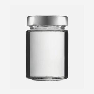 FACTUM üveg,192 ml,átlátszó,szájforma:TO58DE