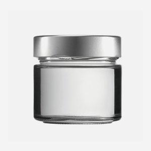 FACTUM üveg,212 ml,átlátszó,szájforma:TO70DE