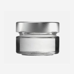 Factum üveg,75ml,átlátszó,szájforma:TO58DE