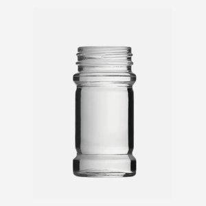 Fuszertartó üveg,75 ml,átlátszó
