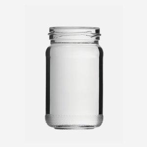 Hochglas üveg,106 ml,átlátszó,szájforma:TO48