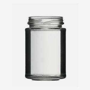 Hochglas üveg,110 ml,átlátszó,szájforma:TO48