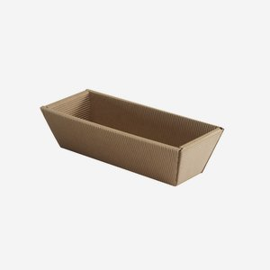 Kartonkosárka hullámkartonból, szín: barna