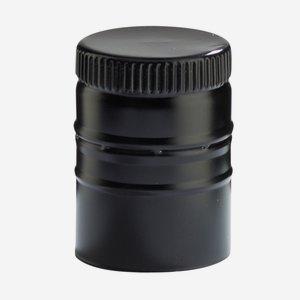 Csavarzár, fekete, 31.5 mm szájformához