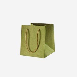 Zsinorfüles ajándéktasak,zöld